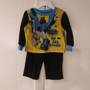 Batman 2pc pj set boys size 2t